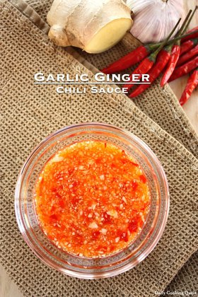 Garlic Ginger Chili Sauce