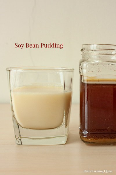 Soy Bean Pudding