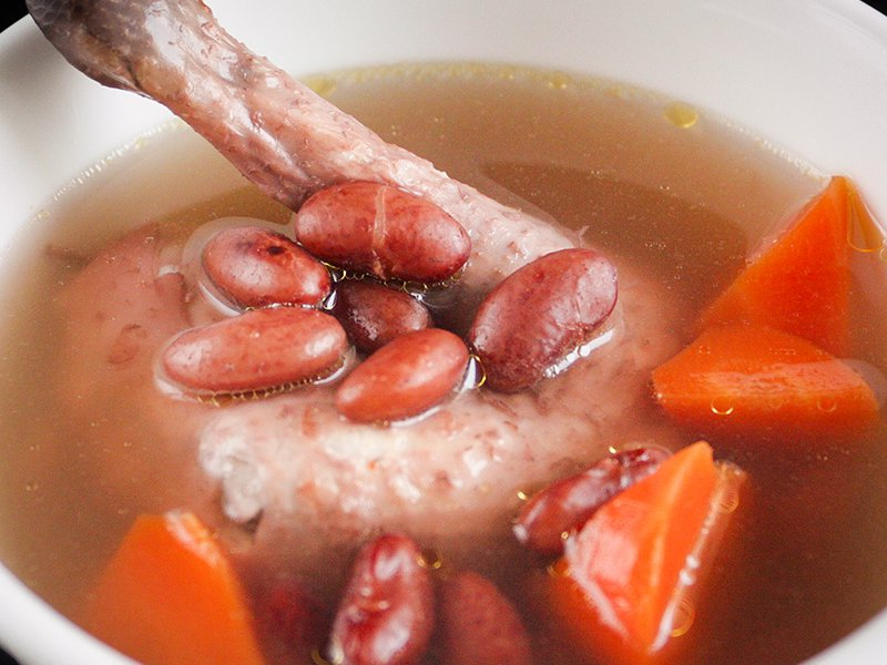 Chicken And Red Bean Soup Recipe Daily Cooking Quest