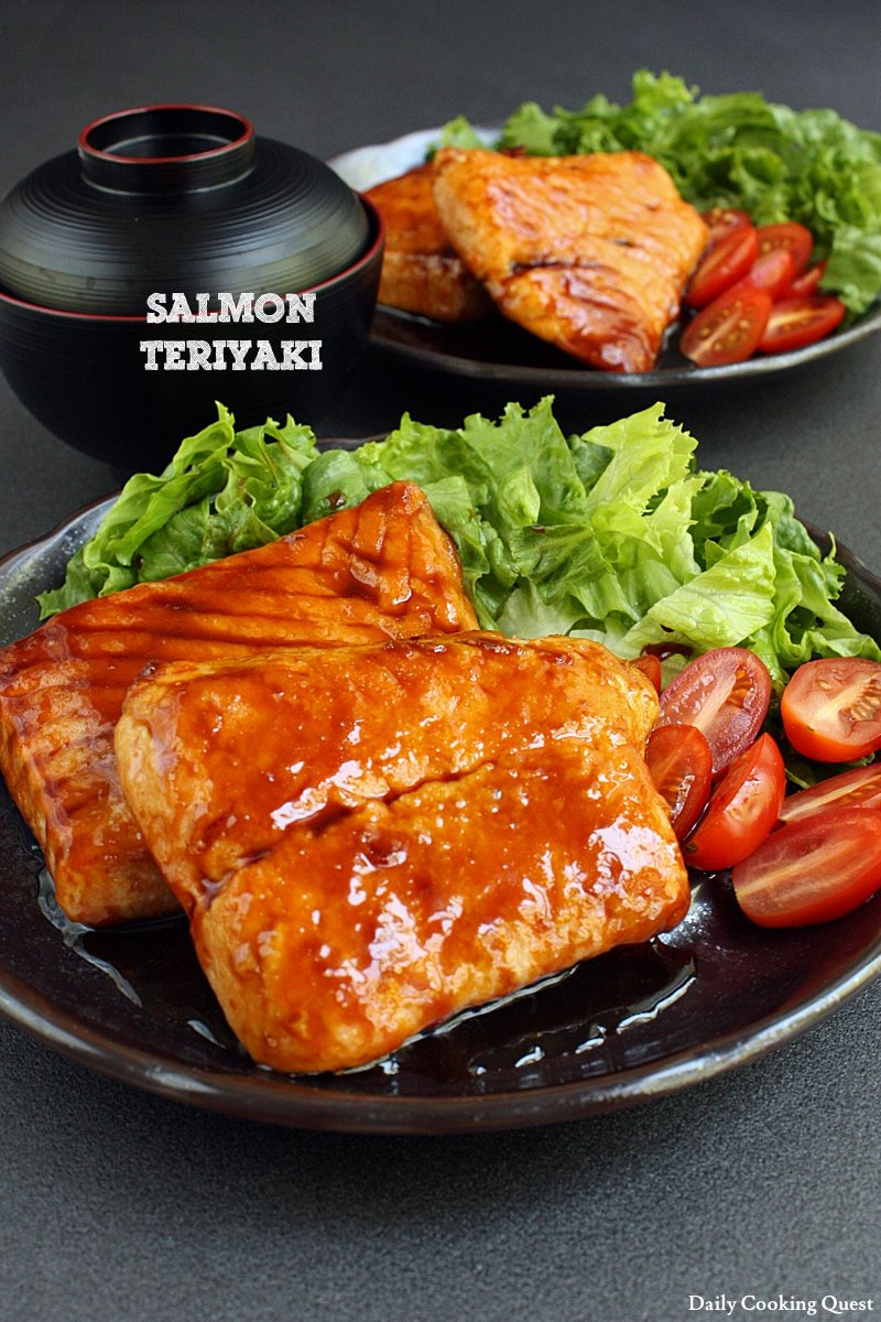 Salmon Teriyaki Recipe Daily Cooking Quest