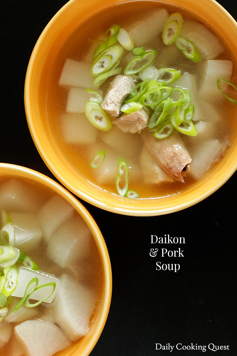 Daikon and Pork Soup