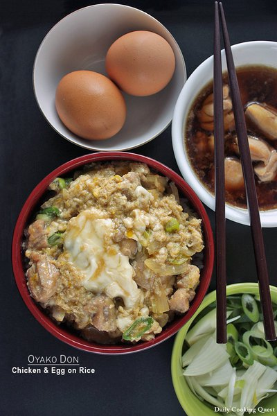 Oyako Don - Chicken and Egg on Rice