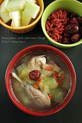 Honeydew and Chicken Soup