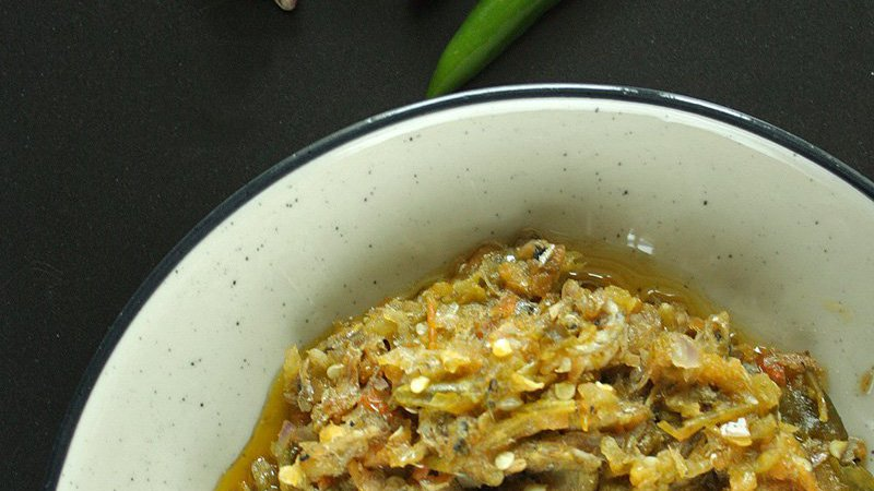Sambal Cabe Ijo Teri Goreng Fried Anchovies In Green Chili Sauce Recipe Daily Cooking Quest