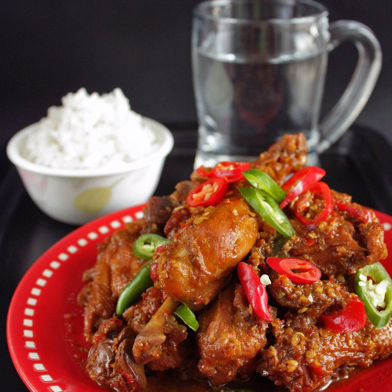 Ayam Kecap Pedas Chicken In Spicy Sweet Soy Sauce Recipe Daily Cooking Quest