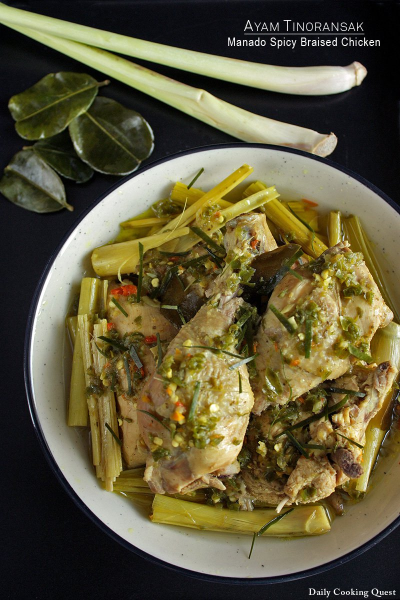 Ayam Tinoransak - Manado Spicy Braised Chicken