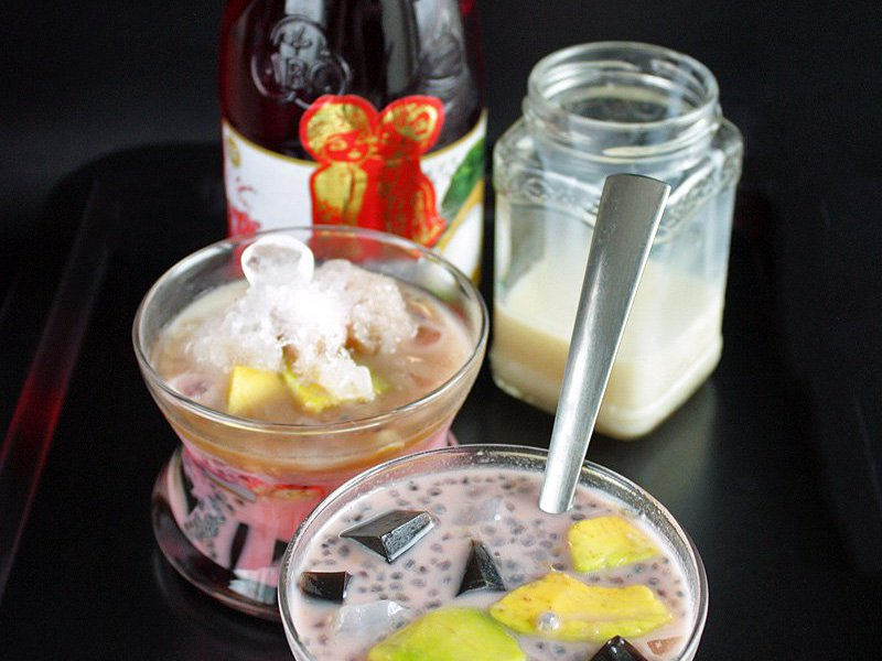 Es Campur Mixed Shaved Ice Dessert Recipe Daily Cooking Quest