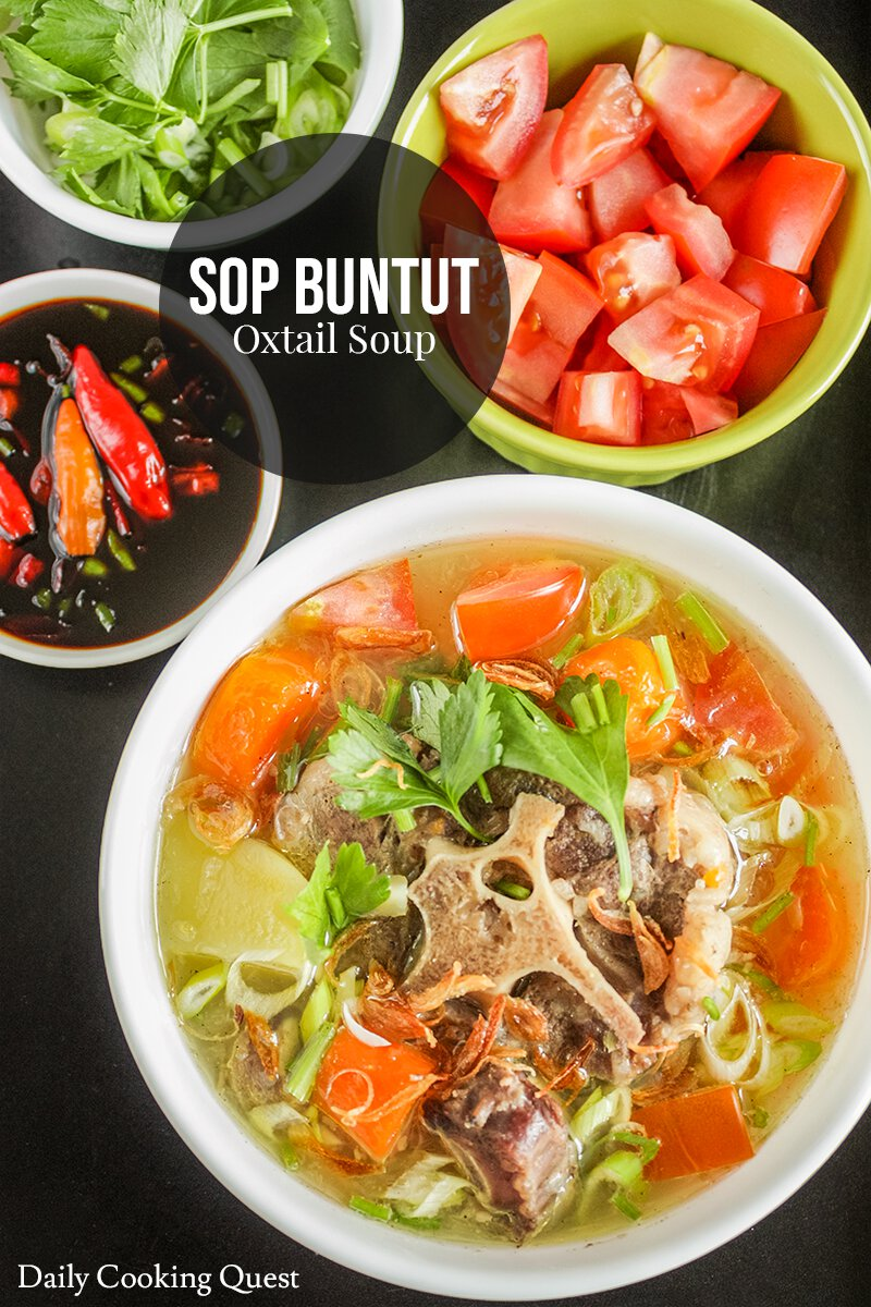 Sop Buntut Oxtail Soup Recipe Daily Cooking Quest