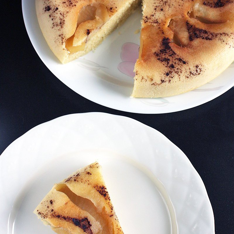 Upside Down Apple Cake In Rice Cooker Daily Cooking Quest