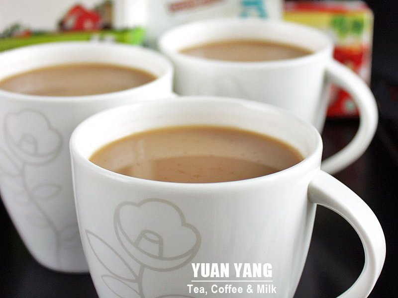 Yuan Yang Tea Coffee And Milk