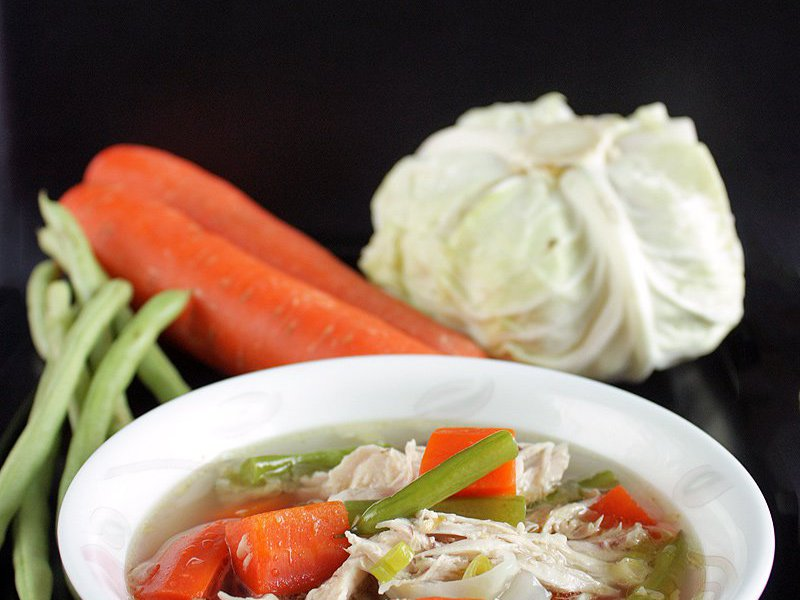 Sop Ayam Indonesian Chicken Soup Recipe Daily Cooking Quest