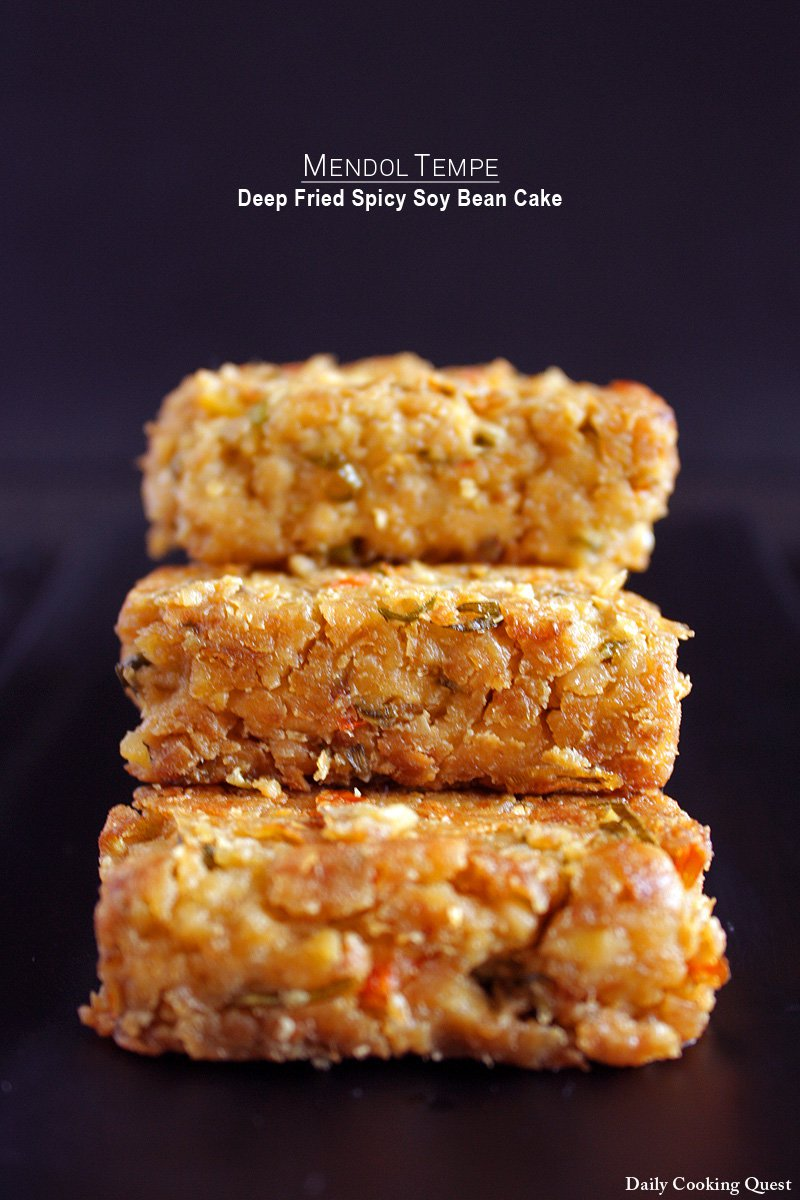Mendol Tempe - Deep Fried Spicy Soy Bean Cake