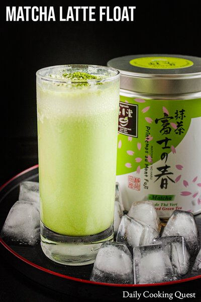 Matcha Latte Float