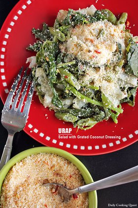 Urap - Salad with Grated Coconut Dressing