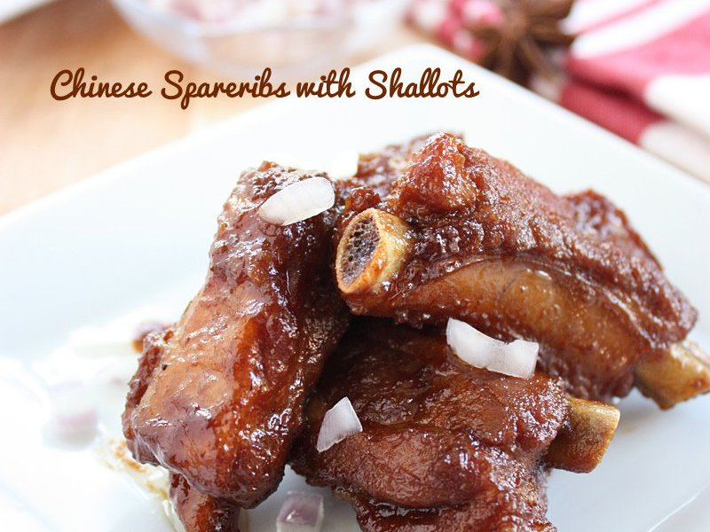Chinese Spareribs With Shallots Recipe Daily Cooking Quest