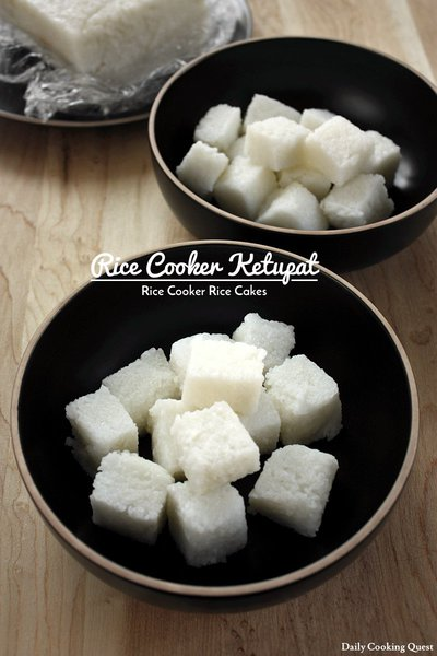 Rice Cooker Ketupat - Rice Cooker Rice Cakes