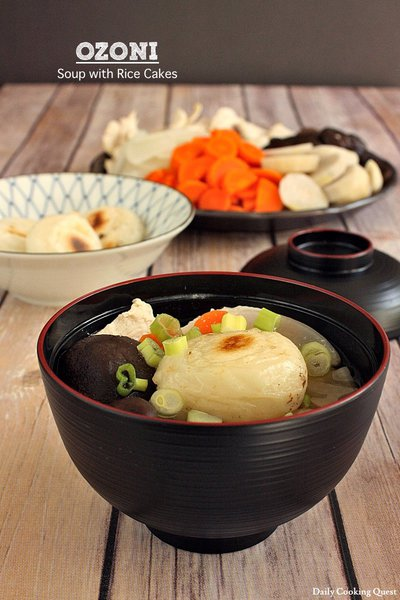 Ozoni - Soup with Rice Cakes
