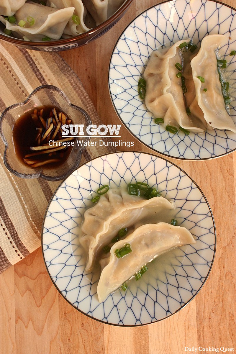 Sui Gow - Chinese Water Dumplings