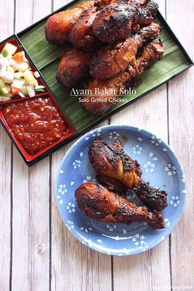 Ayam Bakar Solo - Solo Grilled Chicken