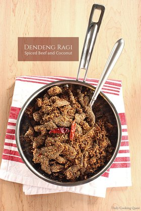 Dendeng Ragi - Spiced Beef and Coconut
