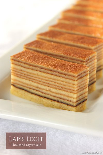 Lapis Legit - Thousand Layers Cake