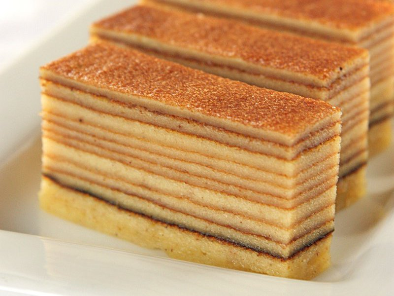 Lapis Legit Thousand Layers Cake Recipe Daily Cooking Quest