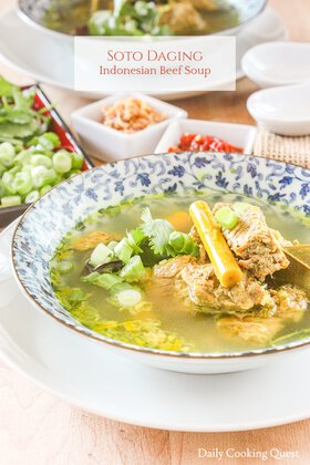 Soto Daging - Indonesian Beef Soup