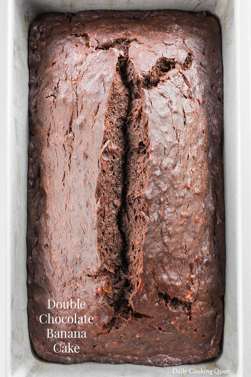 Double Chocolate Banana Cake Daily Cooking Quest