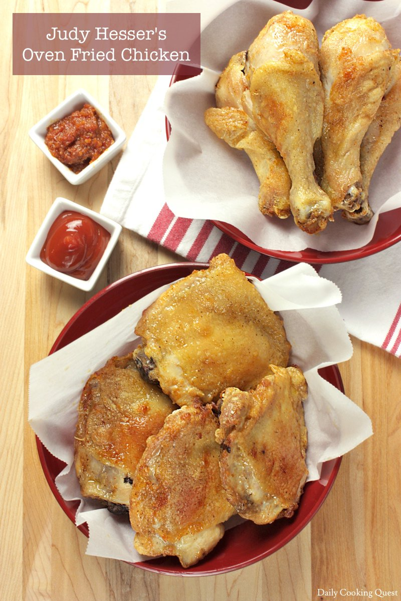 Judy Hesser's Oven Fried Chicken