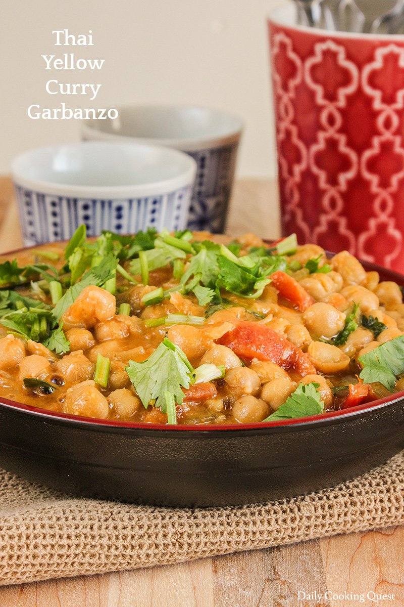 Thai Yellow Curry Garbanzo