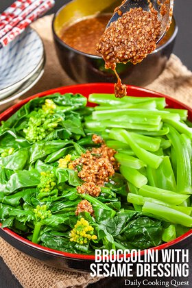 Broccolini Sesame Dressing