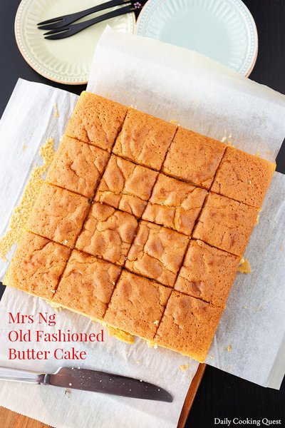 Mrs Ng Old Fashioned Butter Cake