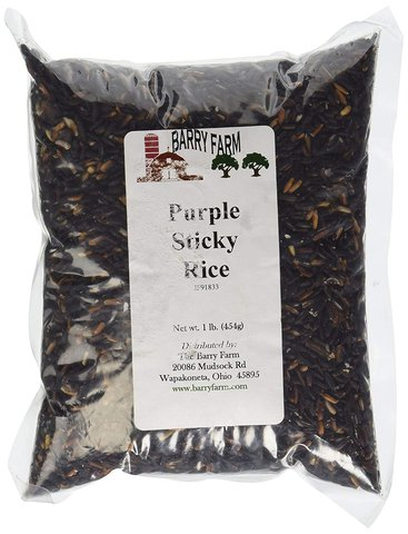 Black/Purple Sticky Rice (Ketan Hitam)