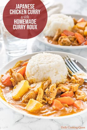 Japanese Chicken Curry with Homemade Curry Roux