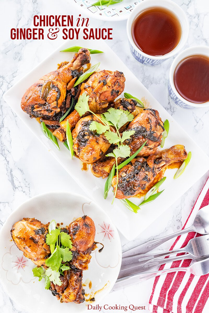 Chicken in Ginger and Soy Sauce
