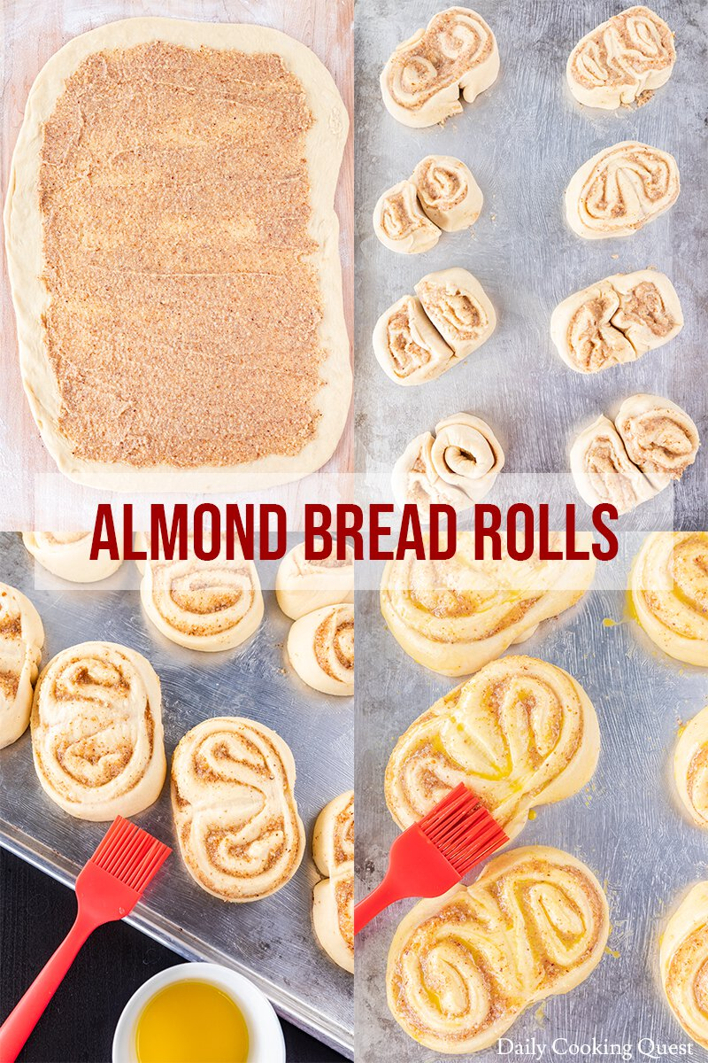 Step-By-Step Guide to Shape Almond Bread Rolls