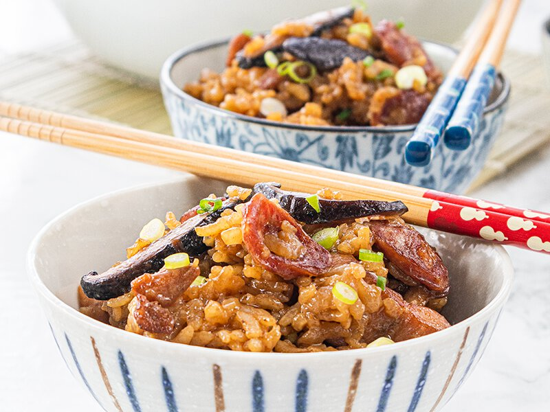 Clay Pot Chicken Rice In Rice Cooker Recipe Daily Cooking Quest