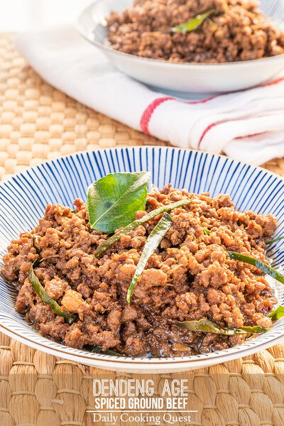 Dendeng Age - Spiced Ground Beef