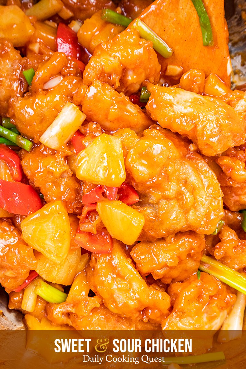 Sweet And Sour Chicken Recipe Daily Cooking Quest